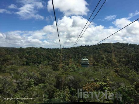 SkyRail cable car, Kuranda, North Queensland